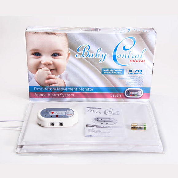 Baby Control Digital Breathing Monitor with Digitally Adjustable Sensitivity