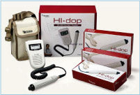 Complete HI Dop Vascular Doppler Set with 4, 5 and 8MHz probes
