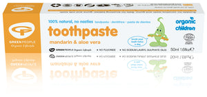 Organic Children's Toothpaste - Organic Mandarin, Orange & Myrrh