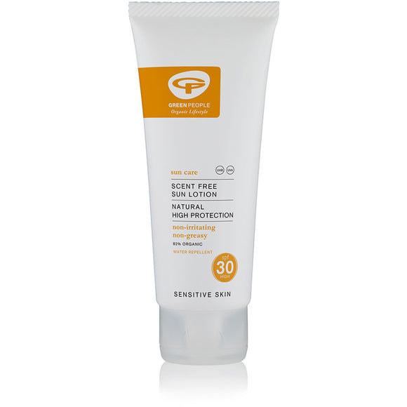 Sun Lotion SPF30 Scent Free 100ml - Travel Size (100ml)