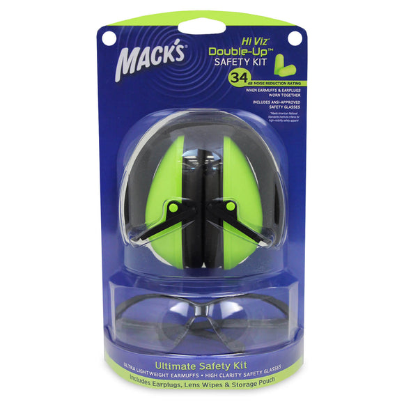 Mack's - Hi Viz* Double-Up® Safety Kit