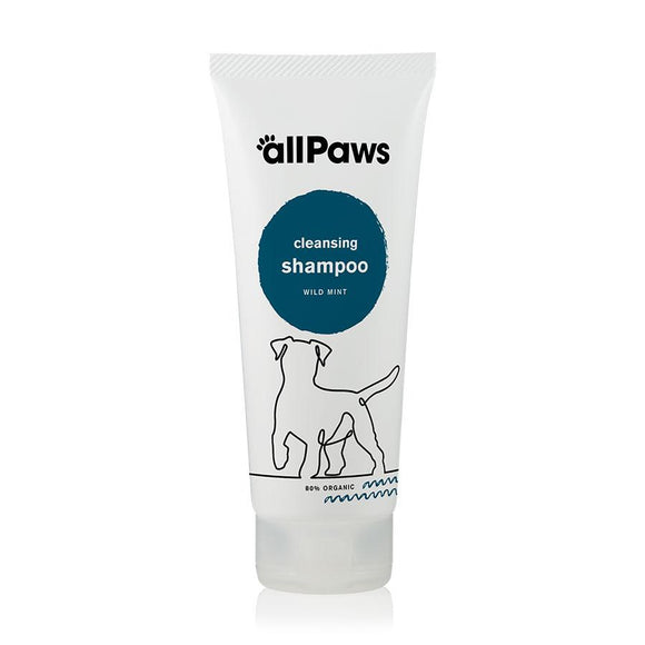 allPaws Cleansing Dog Shampoo - Wild Mint 200ml