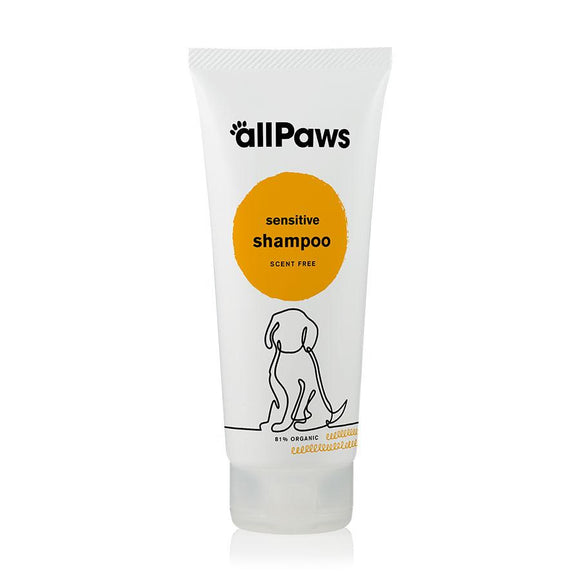 allPaws Sensitive Dog Shampoo - Scent Free 200ml