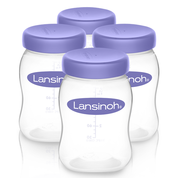 Lansinoh Milk Storage Bottles (Box of 4)