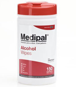 Medipal Disinfectant Alcohol Wipes (150 wipes)