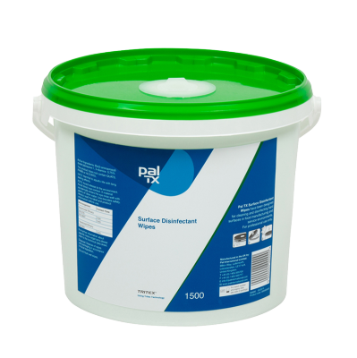 PAL TX Surface Disinfectant Wipes (1500 Sheet Bucket)