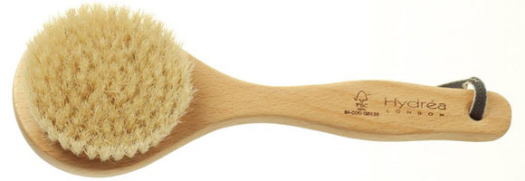 Short Handled Natural Bristle Detox Body Brush