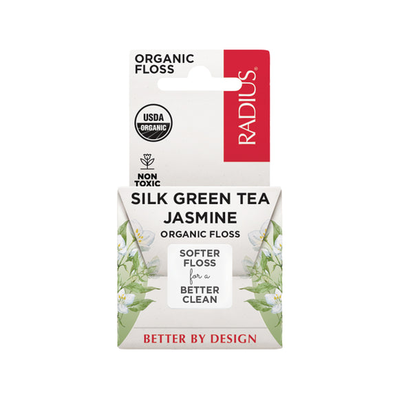 Radius Floss USDA Organic Silk Green Tea Jasmine
