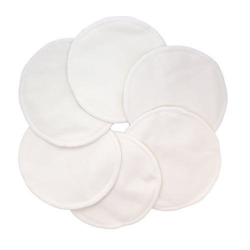 Washable Natural Bamboo Breast Pads
