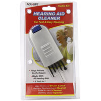 ACU-LIFE Audio-Kit Hearing Aid Cleaner