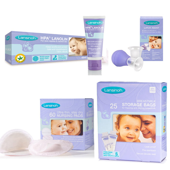 Lansinoh Breastfeeding Starter Kit