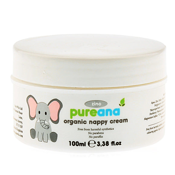 Pureana Organic Nappy Cream Aloe Vera 100ml