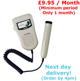 Hi Bebe Sound Fetal Doppler Rental £9.95 / Month