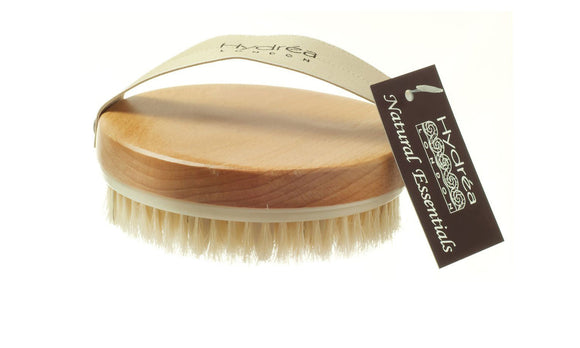 Lymphatic Detox Brush With Natural Bristle & Rubber Nodules