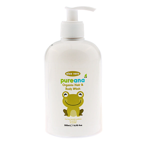 Pureana Organic Hair and Body Wash 500ml