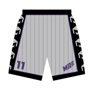 MR2 Selects SB Sublimated Gray Shorts