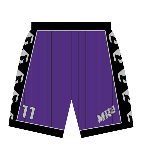 MR2 Selects SB Sublimated Purple Shorts