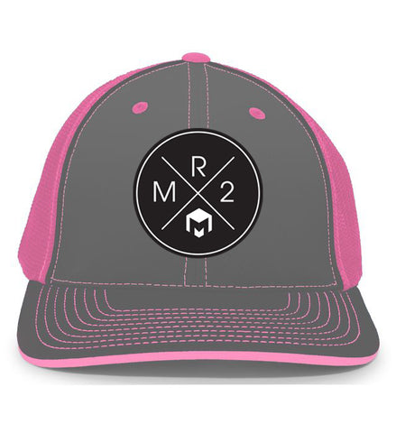 MR2 | Gray & Pink Flexfit Hat