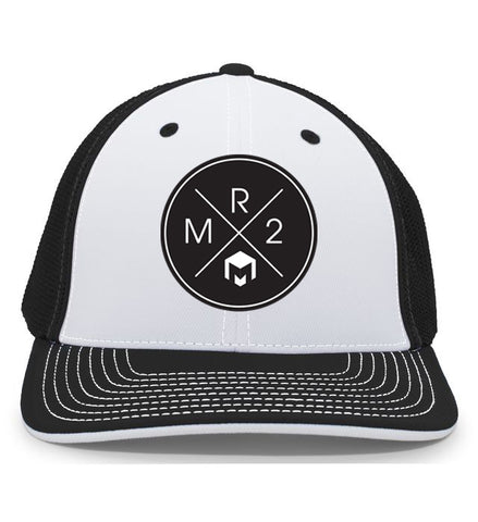 MR2 | Black & White Flexfit Hat