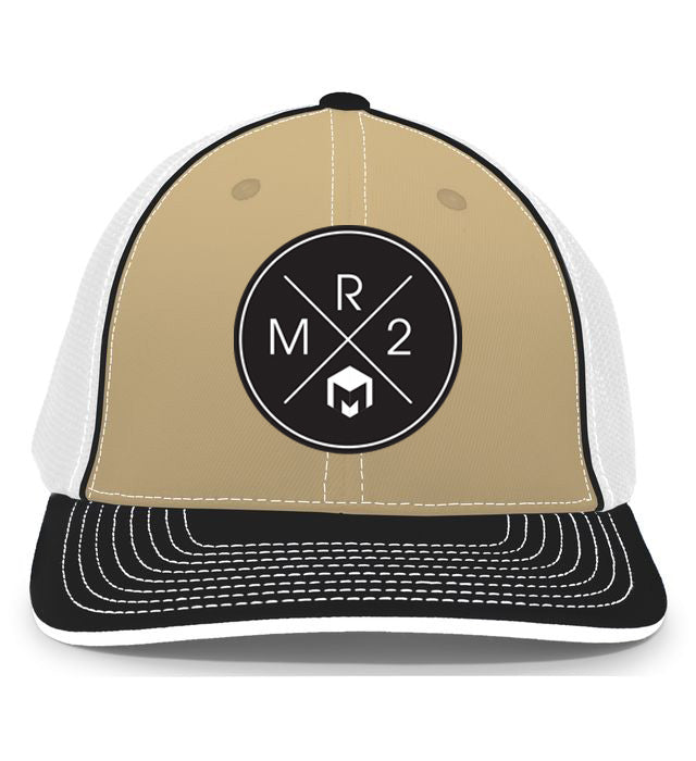 MR2 | Gold, White & Black Flexfit Hat