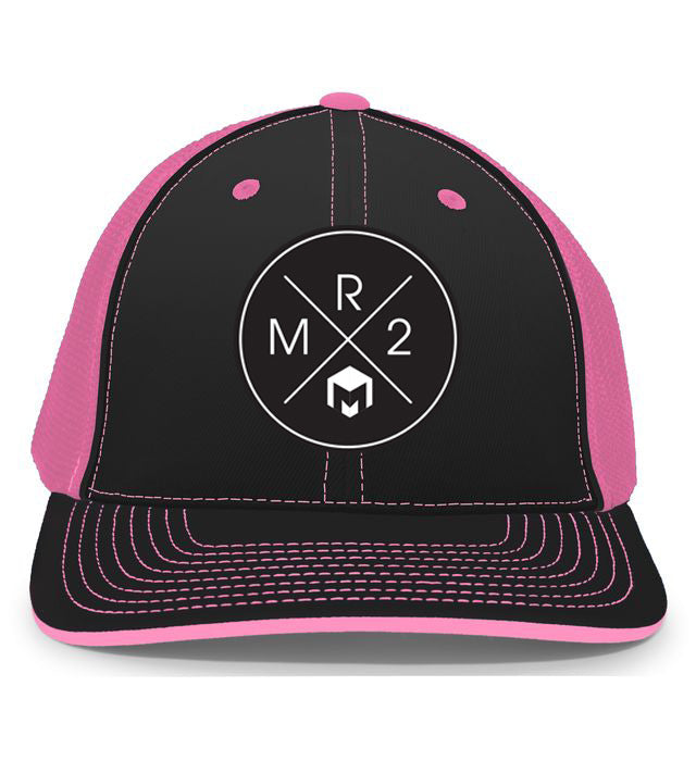 MR2 | Black & Pink Flexfit Hat