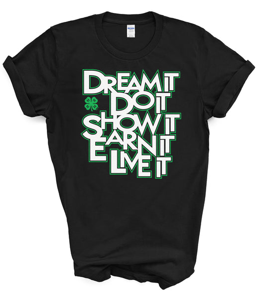 Gloucester County 4-H Dream It T-Shirt