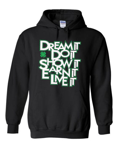 Gloucester County 4-H Dream It Hoodie