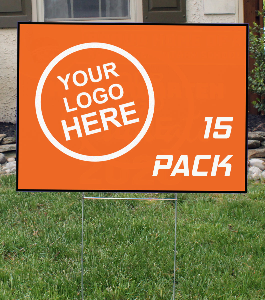 Lawn Signs | 15 Pack