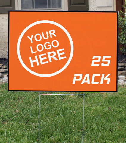 Lawn Signs | 25 Pack