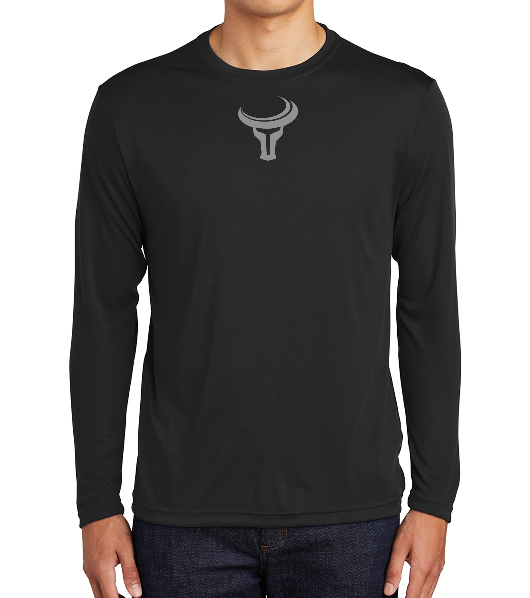 TORO | Bold Mini Logo Long Sleeve Dri Fit - Black