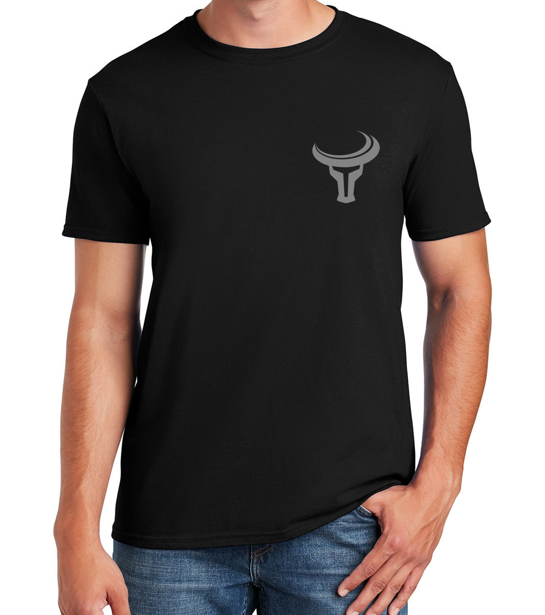 TORO | Bold Chest Logo Shirt - Black