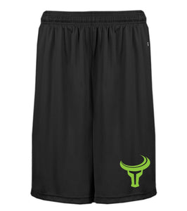TORO | Bold Athletic Pocketed Shorts