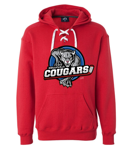 Cougars Logo Lace Hoodie