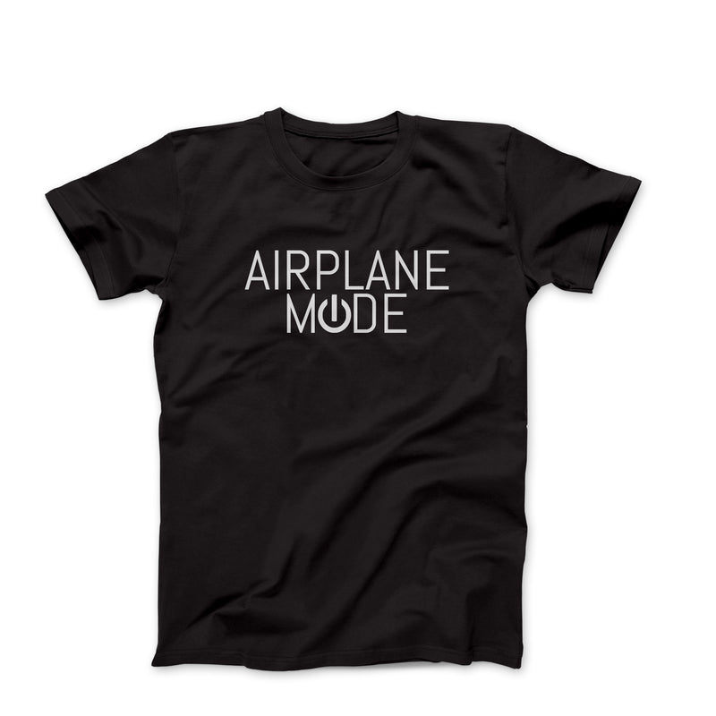 Airplane Mode Funny Oversized Women's Graphic Tee