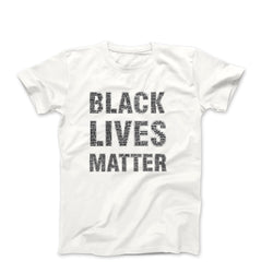 BLM Say Their Names White Tee