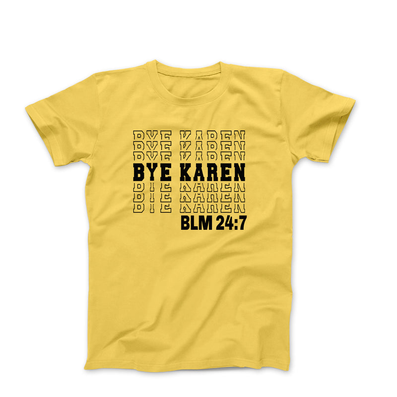 BYE KAREN YELLOW SHIRT