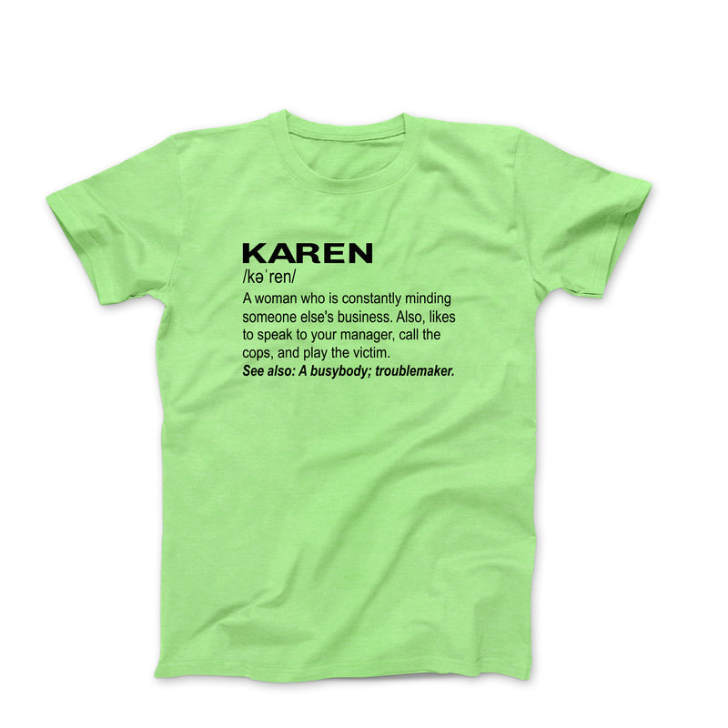 KAREN LIME GREEN T-SHIRT