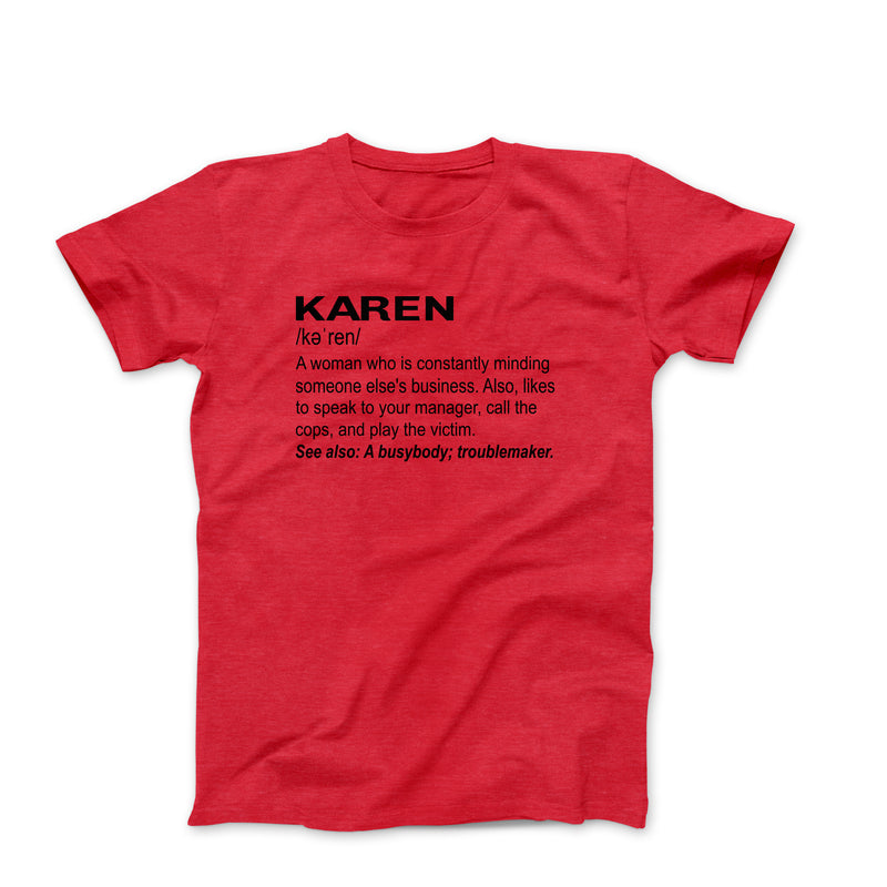 KAREN RED T-SHIRT