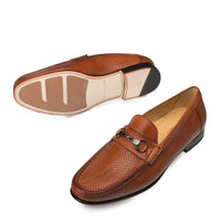 NEW Mezlan Mens Dress Shoes Loafers Slip On Genuine Italia Leather Pani Tan Rust