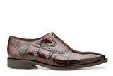 NEW Belvedere Mens Genuine Alligator Leather Oxfords Dress Shoes Walter Brown