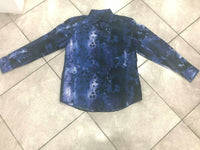 NEW Mens CDS Risen 100% Cotton Fashion Print Casual Shirt MultiColor Regular Fit