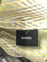 NEW Mens Creme De Silk Premium Fashion Classic Fit 100% Silk Woven Shirt