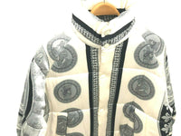 NEW CREME DE SILK Mens 100% Silk Soft Fashion Bomber Puffer Winter Jacket XL