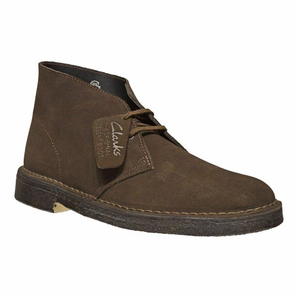NEW Genuine Clarks Originals Men's Desert Boots Dark Brown Suede 26138229