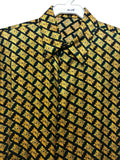 NEW Mens Creme De Silk Premium Fashion Classic Fit 100% Silk Shirt Size Medium