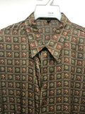 NEW Mens Creme De Silk Vintage Rare Fashion Multicolor Silk Soft Shirt Size 2X