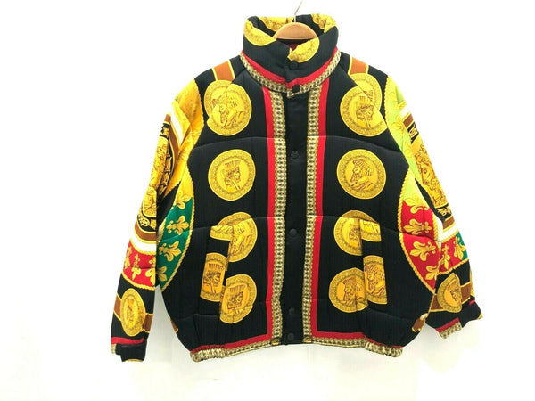 NEW CREME DE SILK Mens 100% Silk Soft Fashion Bomber Winter Jacket MultiColor XL