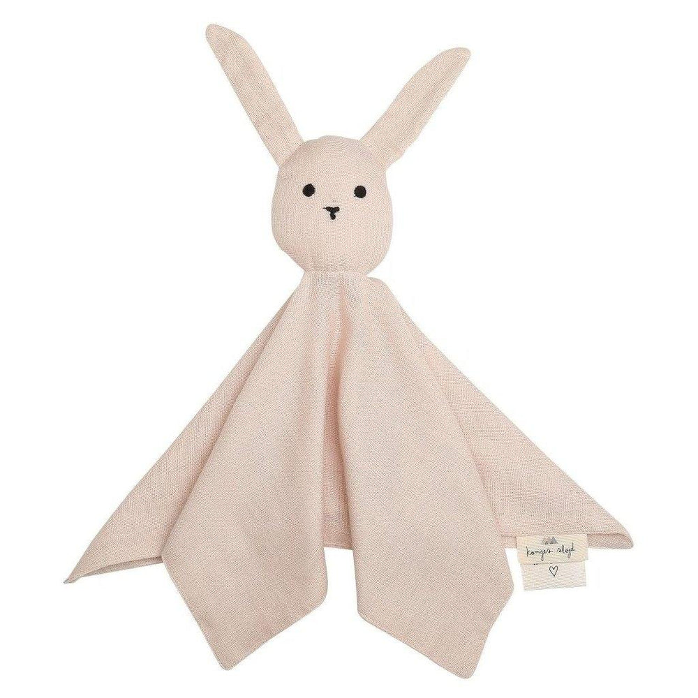Sleepy Rabbit Lovey Comforter | Rose - Modern Raised