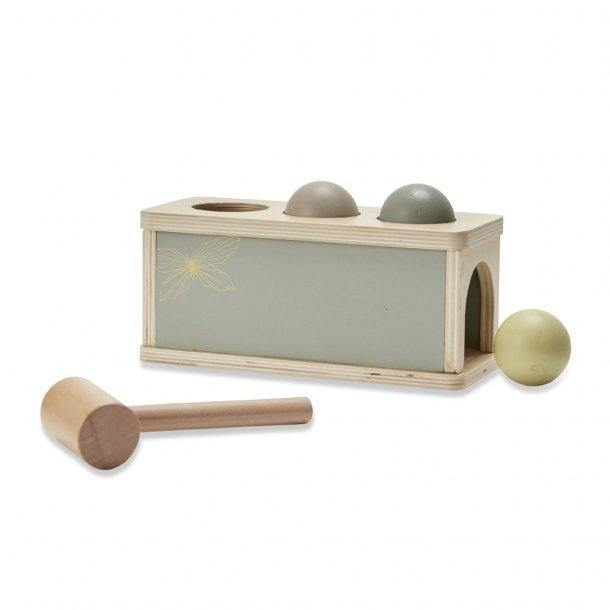 Wooden Ball Pounding Toy - Modern Raised