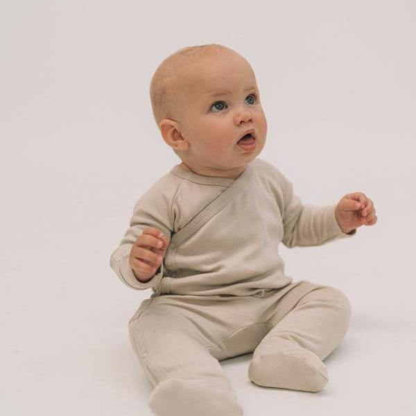 Footed Sleepsuit | Soft Sage